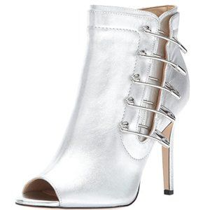 Katy Perry Silver Unity Booties - Size 8.5 - NEW!